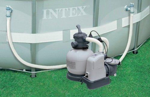 Intex 1600 Gph Krystal Clear Sand Filter